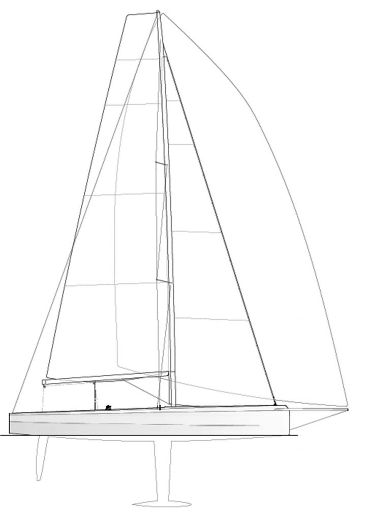 Cape31 Sail Plan